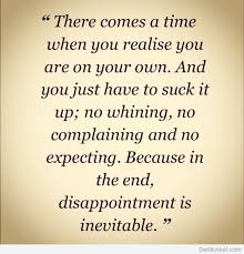 Quotes About Disappointed In Family 40 Quotes Beauteous Disappointed Quotes About Family