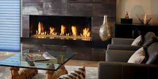 the davinci collection single sided linear gas fireplace