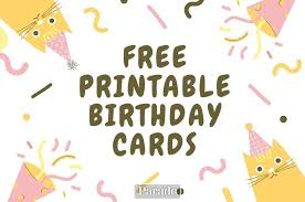 1,988 free certificate designs that you can download and print. 20 Free Printable Birthday Cards