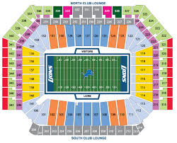 Ford Field Detroit Mi Wheres My Seat