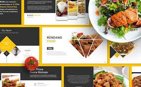 Food Presentation Template Food Presentation Powerpoint Template 67553 Presentation