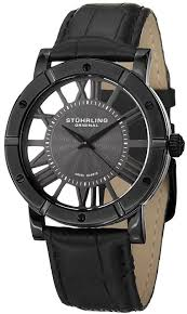 21 most popular stuhrling watches best buys for men the watch blog stuhrling original classic winchester advanced men s quartz watch black dial analogue display and black leather