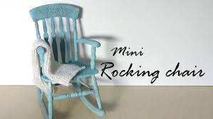 miniature furniture tutorials. miniature furniture rocking chair tutorial dollsdollhouse youtube tutorials