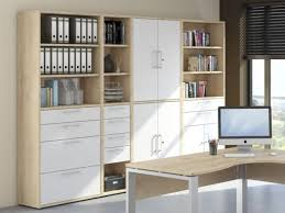 contemporary office storage. Maja, Harmony, Modern Office Storage Cabinets In Natural Bech And White  Matt Finish Thumbnail Contemporary A