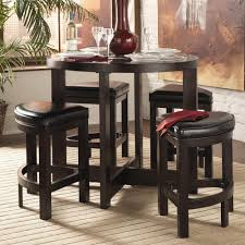 homelegance 3219 5pc counter height dining set value city furniture pub table and stool set