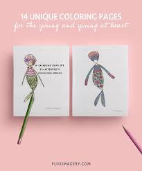 The best free printable mermaid coloring sheets on the web. Printable Mermaid Coloring Book With Weekly Planner Sheet Digital Printable Adult Coloring Book Printable Kid S Coloring Book Us Letter Fluximagery Com