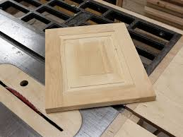 how to make raised panel doors on the table saw