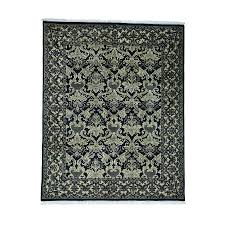 8 x10 hand knotted pure wool william morris design oriental rug
