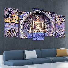 Shop for buddha decor online at target. Gautama Buddha Multi Panel Canvas Wall Art L By Stunning Canvas Prints