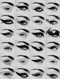 diffe way to do your eye liners