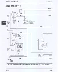 john deere stx 38 wiring question lawnsite has a limit on it like fixer67 does so i ll just put the wiring diagrams on the site this is the first one the second one will be in the next post
