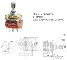2 3 4 12 position rotary switch buy 3 position rotary switch 2 3 4 12 position rotary switch