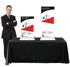 Restaurant Table Top Display Stands Table Top Banner Stands TradeShowDisplayPros 70