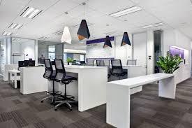 Office Design Concept Open Concept Work Area At Microsoft Asia Pacificu0027s Singapore Office Design