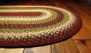 cotton area rugs 8x10 oval area rugs oval area rugs decor cotton braided sunrise red area