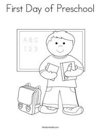 Small Picture First Day of School Coloring Worksheets Kindergarten and School