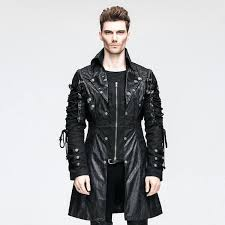 mens faux leather biker jacket whole punk rock men faux leather motorcycle jackets cool garage heavy metal windproof biker jacket zara man faux leather