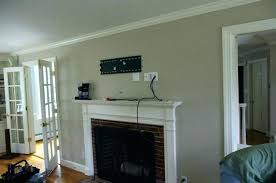 mount tv on brick fireplace hide wires wonderful hiding wires above brick fireplace out how to
