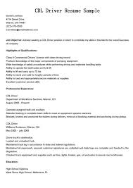 Truck Driving Resume Examples Best Of Truck Driver Resume Samples Truck Driver Resume Format Cdl Driver