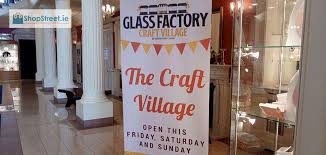 street ie visits glass factory craft village at galway crystal