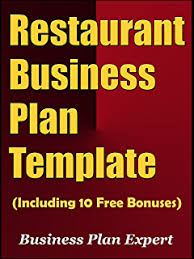 Amazon.com: Restaurant Business Plan: How To Open A Restaurant ...
