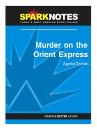 sparknotes · rakuten ebooks audiobooks and  murder on the orient express sparknotes literature guide series