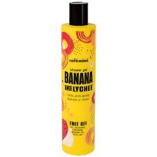 <b>Гель Cafemimi</b> для <b>душа Банан</b> и Личи 0,3л - купить с доставкой ...