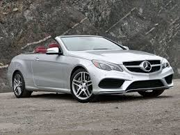 The body styles of the range are: 2014 Mercedes Benz E Class Cabriolet Luxury Convertible Review And Quick Spin Autobytel Com