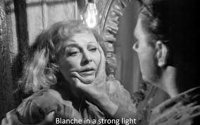norman holland on elia kazan a streetcar d desire  blanche in a strong light