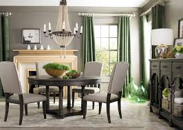 Emporium Round Dining Table by Bassett Furniture Contemporary