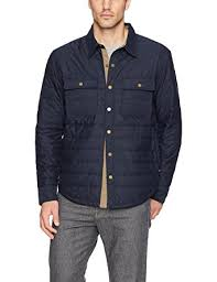 Free Country Men's Quilted Shirt Jacket at Amazon Men's Clothing ... & Free Country Men's Quilted Shirt Jacket, Dark Navy, Small Adamdwight.com