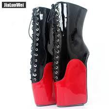 jialuowei New Arrive <b>18CM Extreme High Heel</b> Hoof Sole Heelless ...