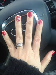 Christmas Nail Designs Shellac Red Xmas Shellac Nails Christmasnailsgel Shellac Nail