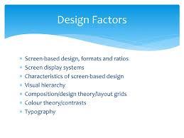 Screen Based Design Screen Based Design An Introduction Dw9v Ppt Download