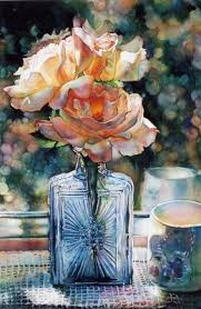Still Life by Jeannie Vodden, Colored Pencil. Love the depiction   Art at  Repinned.net