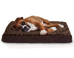 furhaven pet orthopedic pet mattress large chocolate big dog furniture