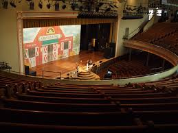 Ryman Auditorium View From Seats Skates On Haight