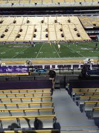 Lsu Stadium Club Seating Chart Tiger Stadium Section 103 Rateyourseats Com