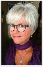 Short Grey Hair Style cute pixie cut she grew out her color in 6 months love her 4544 by wearticles.com