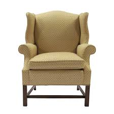 traditional wingback chairs. Traditional Beige Chippendale Style Wingback Chair Chairs O