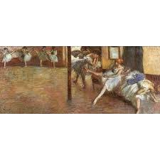 ballet rehearsal 1891 by edgar degas art gallery oil painting reions