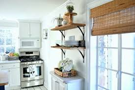 beautiful diy kitchen open shelving for under 50 a great way to add rustic