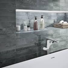 delta grey stone effect wall tiles 75