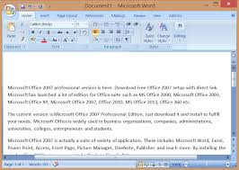 Microsoft Office 2007 Professional Edition Download