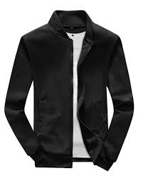 black fleece er jacket for men