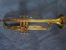 Conn Trumpet Mouthpiece Chart Vintage Conn 22b Trumpet Brass Lacquer 1956