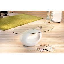 Couchtisch Oval Weiss Couchtische Glas In Weis Holin Pharao24