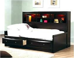 Twin Bed Frames With Storage Black Twin Bed With Storage Black Twin ...