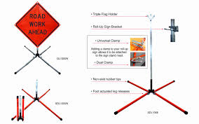 dicke safety products dynalite sign stands