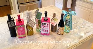 How To Decorate A Wine Bottle For A Gift Wine Bottle Decor me my BIG ideas 1